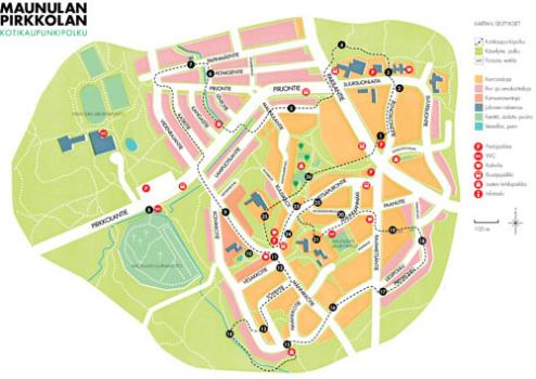 Maunulan Pirkkolan Kotikaupunkipolku 2012 Maunula