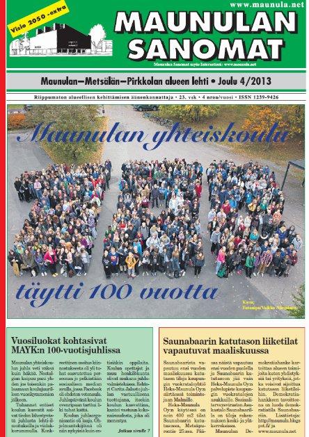 MaSa 4 2013 kansi