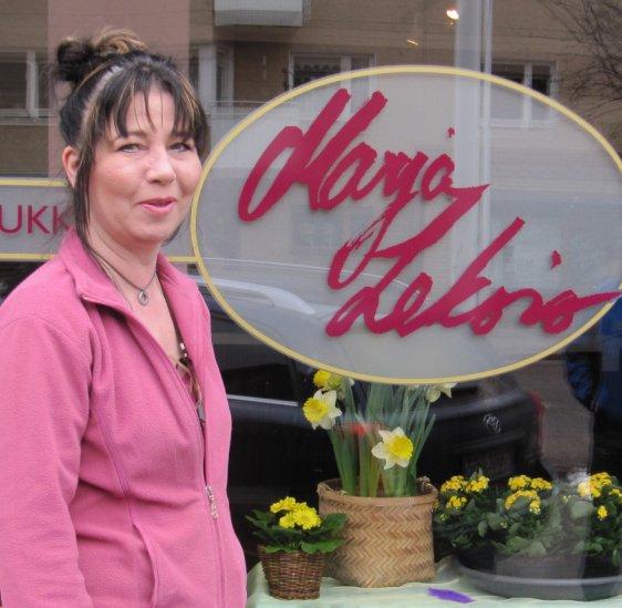 kukkakauppa ikoni