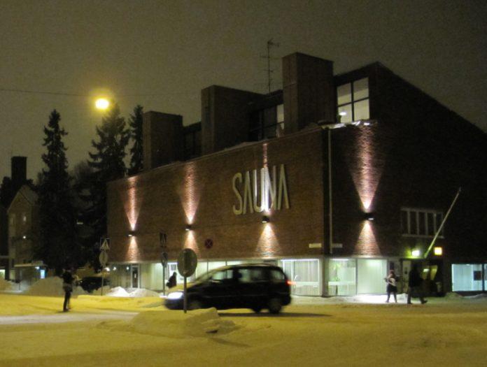 saunabaari joulukuussa 2012